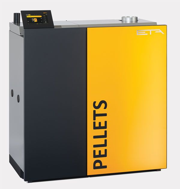 ETA PU7 (11kW and 15kW) Wood Pellet Boiler - Indoor